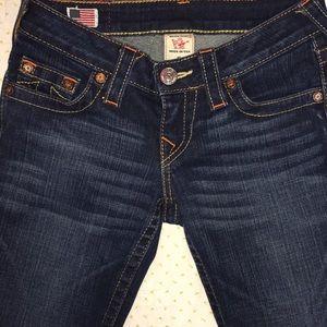 Unisex True Religion Stella Skinny Stretch Jeans